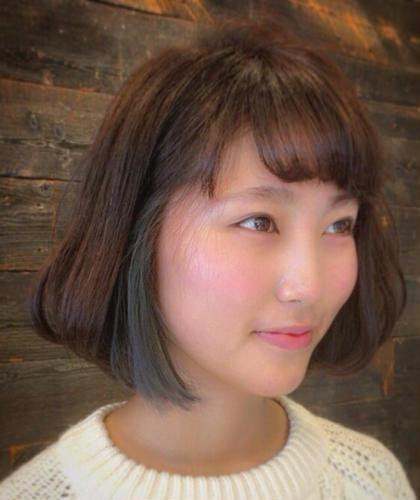 インナーカラー*\(^o^)/* ブリーチしてから色をのせてるので綺麗にはいります(((o(*゚▽゚*)o)))かわいい LUCK鎌倉所属・木本成美のスタイル