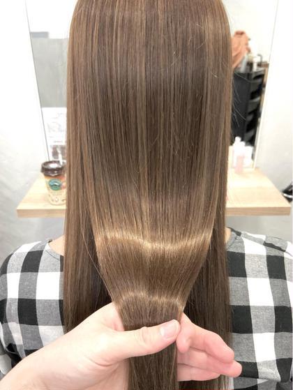 ⭐️SNSで話題の美髪カラー⭐️サブリミック酸熱TR+艶感カラー⭐️