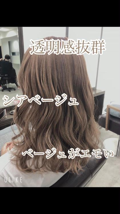 🌈【圧倒的☆透明感 】カット&イルミナorN.カラー&ハホニコTr✨