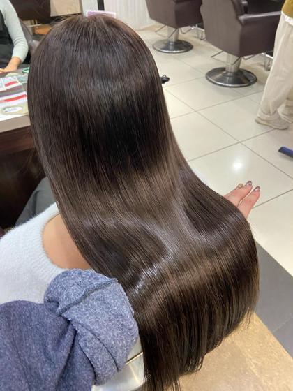 ♥︎⚠️秋冬対策⚠️静電気防止!癖毛の方や痛みが気になる方必見!髪質改善♥︎💐10stepグラスヘアトリートメント💐