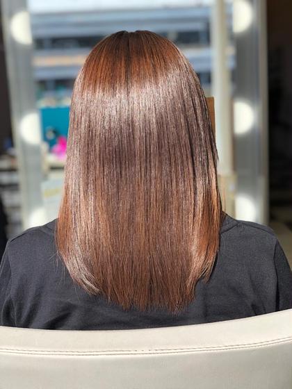 全体のお客様⁑同時施術でより綺麗に!髪質改善トリートメント+カラー 25164円→16524円