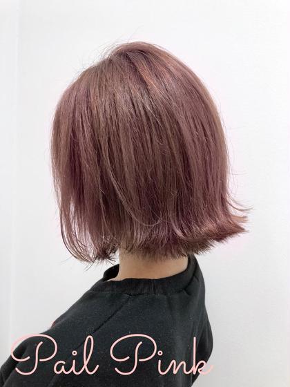 💎ファイバープレックスブリーチ💎&ツヤ髮カラー&カット⭐️