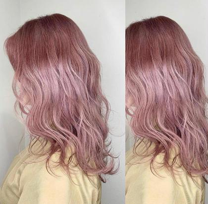 🌈髪を明るくイメチェン🤩Wカラー(ブリーチ1回+カラー)❤️