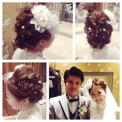 weddingceremonyのセット AZURA所属・ワダマリナのスタイル