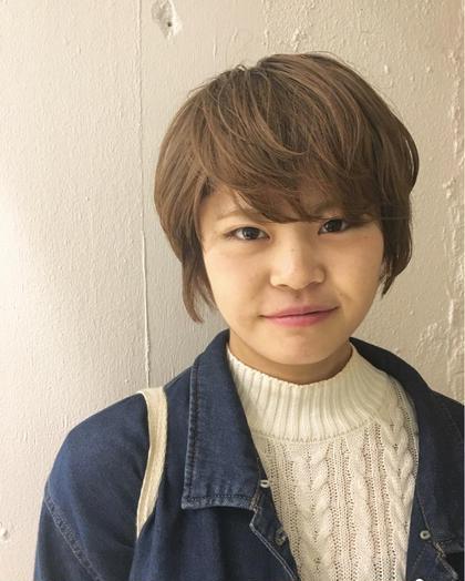 金髪になった髪の毛をベージュ大人可愛く! KENJE横浜所属・ひのすぎきこのスタイル