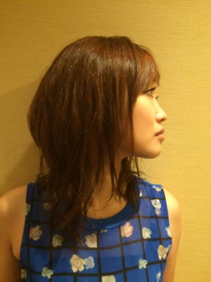 U   hair所属・TanimotoIkumiのスタイル