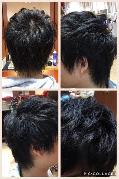 メンズスタイルももちろん歓迎!! 束間の出るカット✂︎ Dejave hair&space所属・鶴岡七海のスタイル