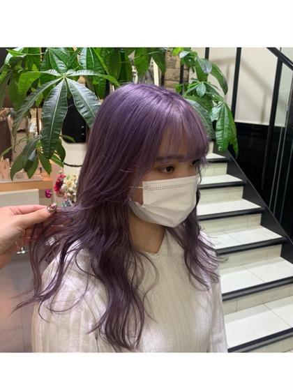 ケアブリーチ ➕ ワンカラー🦋 (髪のダメージを軽減させるブリーチ剤を使用✨)