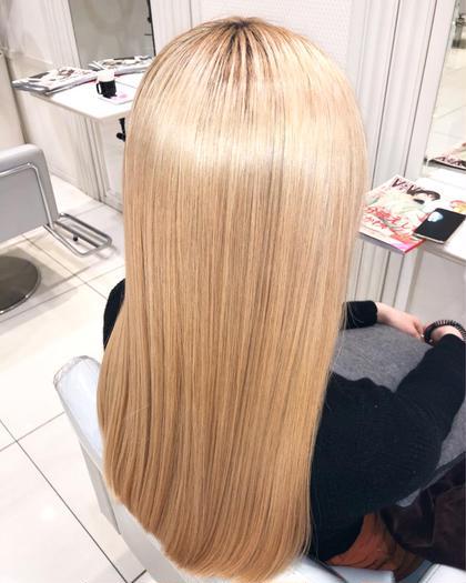 ✨超絶ツヤ髪✨【カット+髪質改善+シャンプーブロー】