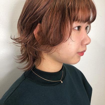 顔まわりの短めの毛が可愛いんです。