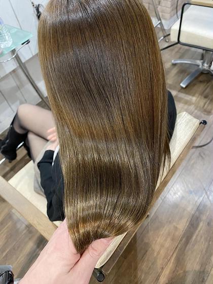 【✨艶々の向こう側✨】カット&美髪縮毛矯正&ハホニコTr(3STEP)