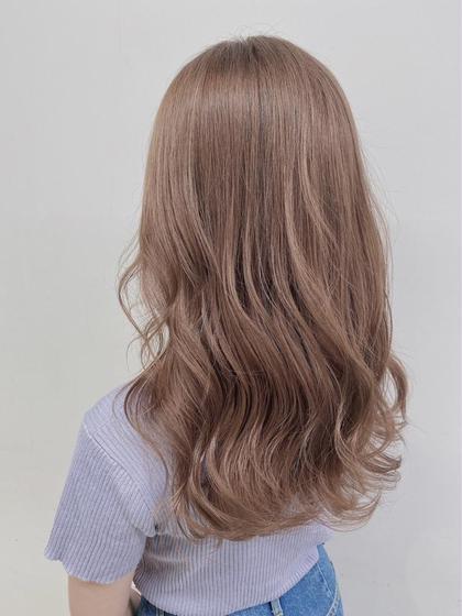 【期間限定クーポン】髪質改善トリートメント+上質ケアカラー♡ロング料金なし♡