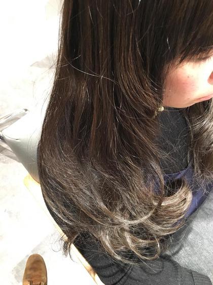 グラデーション 外国人風  Lumiere所属・田中直樹のスタイル