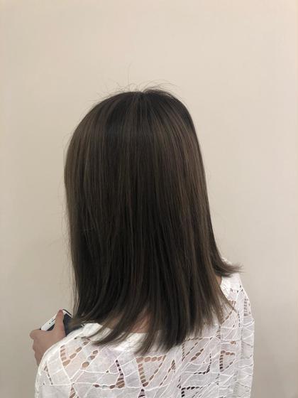 【人気No.2✌️】「カラーのみなら」うる艶カラー+Aujua 1stepトリートメント