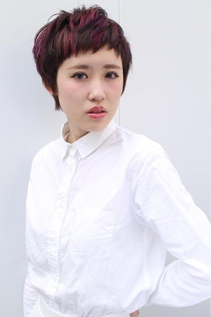 GLIM  hair所属・村吉忠のスタイル
