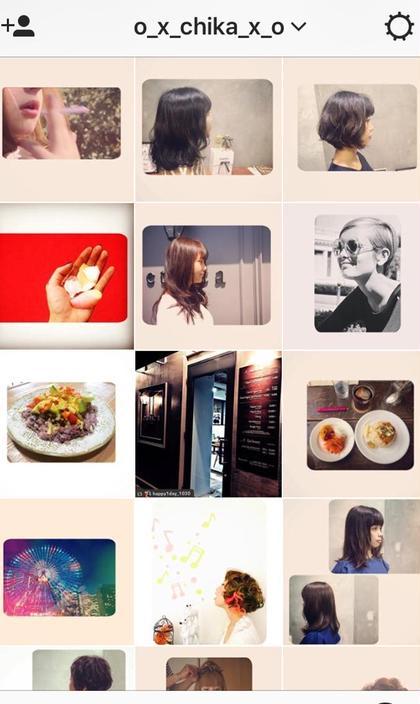 instagramもやってますので、 ぜひに*  ヘアスタイルと、わたしの日常を載せてます*笑 モデルさん、お客様で来ていただいた方、 載せてます*  o_x_chika_x_o  ethica所属・ChikakoKoyamaのスタイル