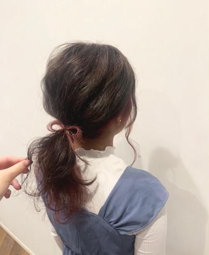 💐 シルキ-艶カラ- & ヘッドスパ10分
