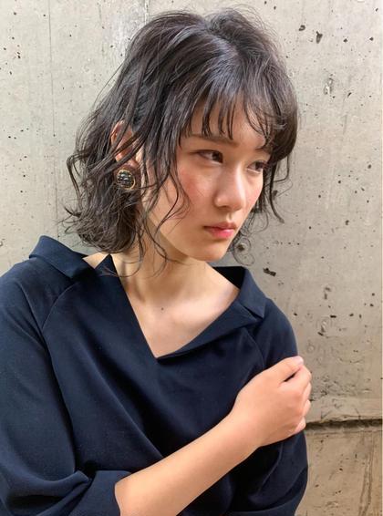 平日夕方16時限定 カット+カラー+ハホニコトリートメント¥4400