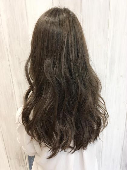 【透明感カラー】マットグレージュ CIINQ ドリームプラザ店所属・大柳浩輝のスタイル