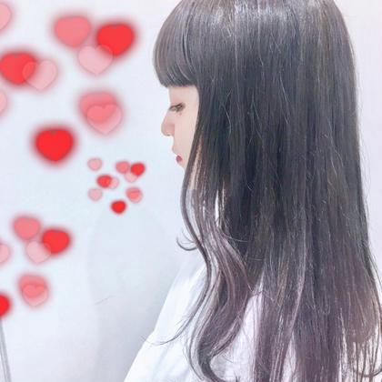 柔らかいモーブバイオレットグラデーション♡ 関口三都季のヘアカラーカタログ