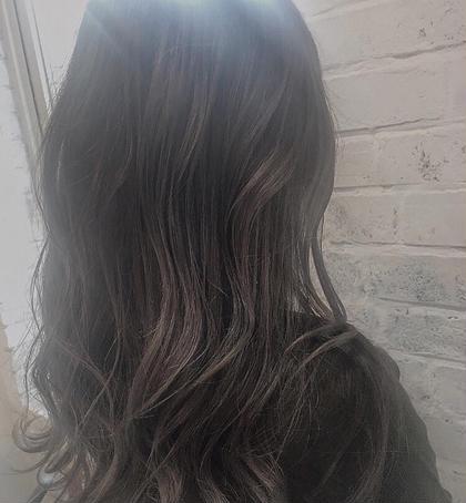 ブリーチオンカラーの透け感のあるカラー driveforgarden所属・田籠陽子のスタイル