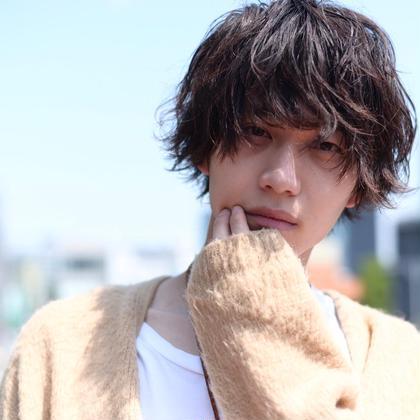 カット + パーマ + トリートメント 【instagram : @ikeogaku】 H eitf所属・スタイリスト池尾 岳のスタイル