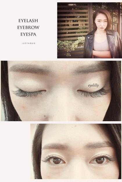 瞳を綺麗に魅せる事に着目した 業界最先端の目元デザインをご提案する total eyebeautyサロンです eyelilly所属・eyelilly(アイリリー)のスタイル