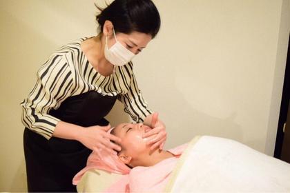 《NEW❗️免疫力アップコース》お顔の老廃物ケアで肌の調子を整えスッキリ小顔&透明感アップ‼️毛穴洗浄付つるつる美肌へ✨