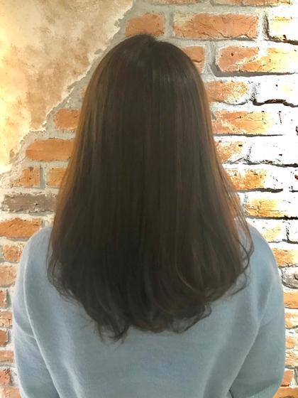 通常のダメージの1/10で しっかりとクセが伸びる酸性縮毛矯正 +ダメージレスRカラー ヴァーチューセカンド所属・nomuramaiのスタイル