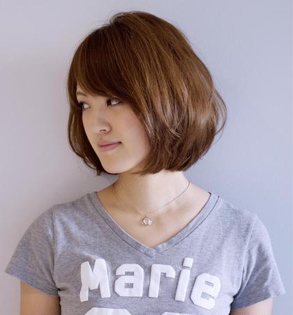 人気のボブ^_^ Total Beauty LIT所属・永山諒のスタイル