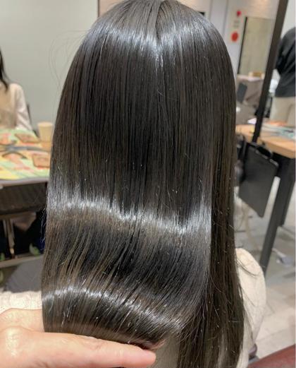 カット&髪質改善🌿縮毛矯正👩🏻✨✨