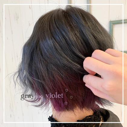 inner color ❤︎ バイオレット