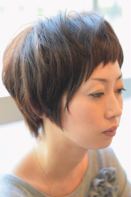眉上前髪.スッキリショートスタイル(・ω・)ノ Def所属・松島大樹のスタイル
