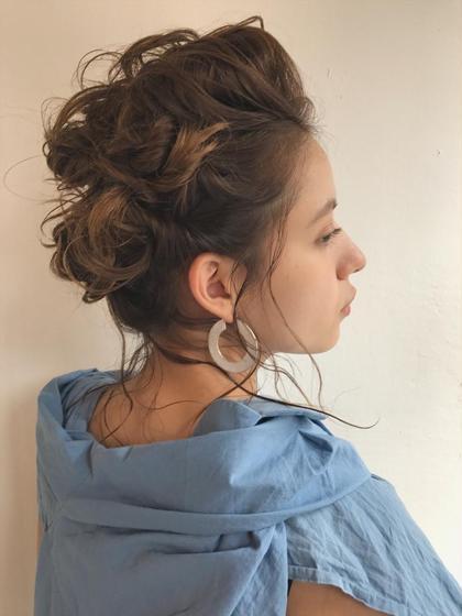 ヘアアレンジ ミディアム hair arrange ❤︎