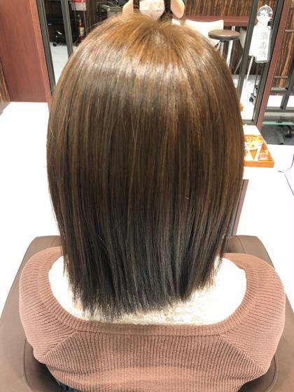 プリンが気になる方🙌🏻髪色を変えたい方🙌🏽1回のカラーで理想の髪色に🧚🏽♀️ワンカラー