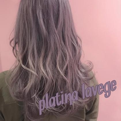 🌈話題のケアブリーチ🌈前髪カット+ダメージレスWカラー+極上3stepトリートメント