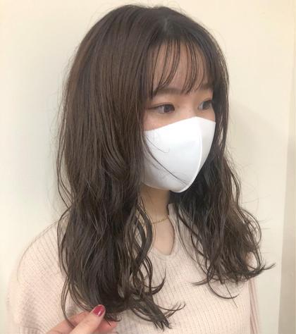 【15:00〜限定】🤎前髪カット+カラー🤎