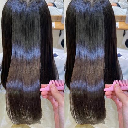 🤍1名様限定🤍ダメージ0でクセ、ボリューム軽減!!髪質改善トリートメント