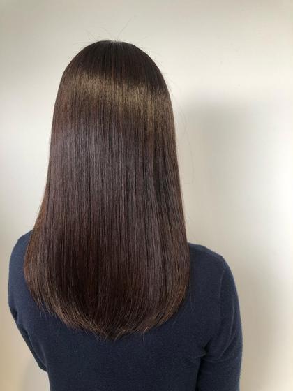 🕊【髪質改善コース】N.ケラ熱トリートメント&縮毛矯正