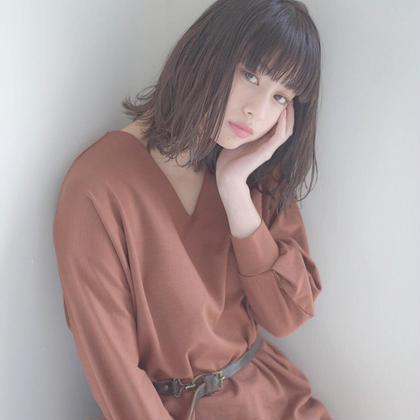 ♦︎minimo限定♦︎前髪カット & 髪質改善tokioトリートメント