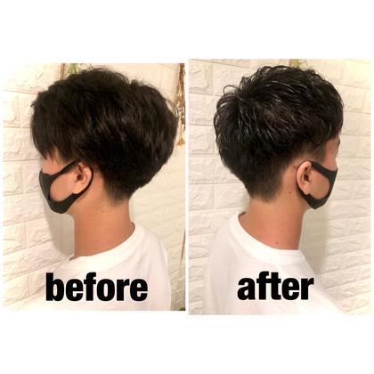 【メンズ限定】メンズカット今流行りの髪型を提供します🦁 (9時30分〜18時30分)