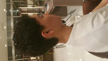 癖のある髪も味方につけてかっこよく! 美容室バサ東久留米店所属・佐々木大将のスタイル
