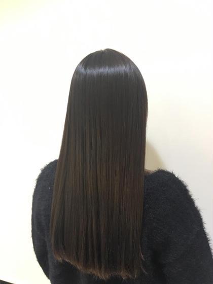 その他 ロング 業界初のダメージレス縮毛矯正です。 縮毛矯正をかけた後の方が柔らかくサラ艶な髪に🌟