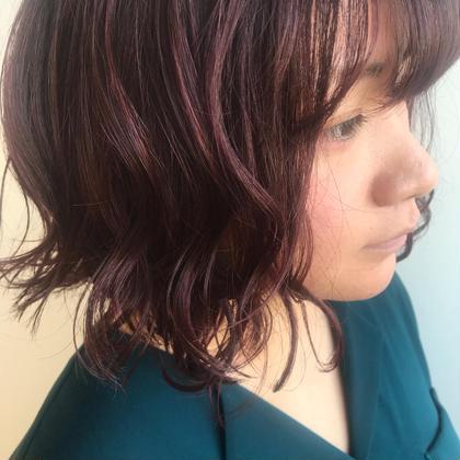 LULU by KENJE所属の前田ゆうかのヘアカタログ