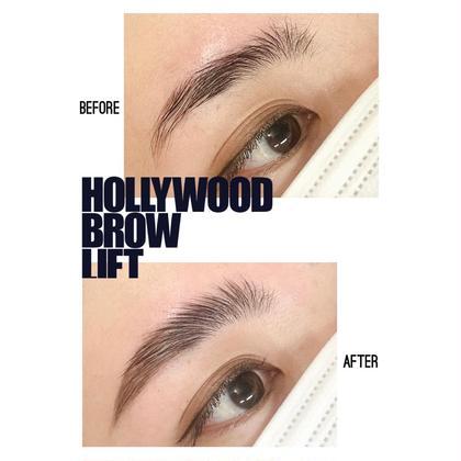 次世代眉毛*ハリウッドブロウリフト■眉毛パーマ◎Instagramバズり中の美眉毛🦩🦩