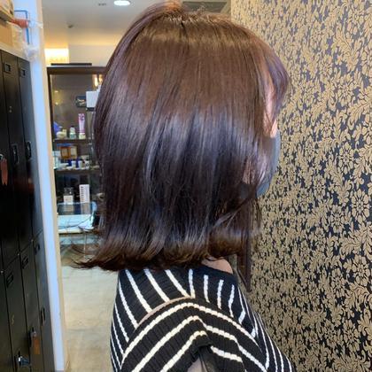 [new❤髪のダメージが気になる方に](カット+)ダメージレス デトックス色艶カラー✨(全体カラー)