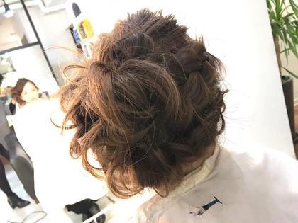 サイドUPチラシ後方部分 hair design sCene本店所属・前田優のスタイル