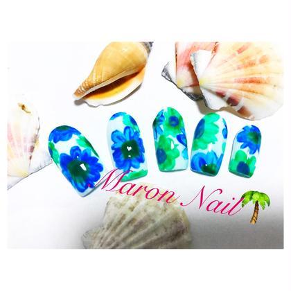 お花ネイル ¥3000 Maron  nail所属・マロンネイルのフォト