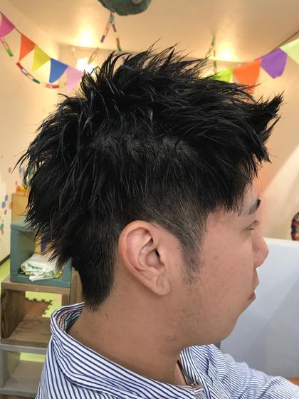 今田賢太朗のメンズヘアスタイル・髪型
