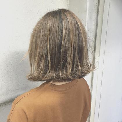 #外ハネボブ#ハイライト#ウエットスタイリング ViENNA   HAIR所属・髙橋彩のスタイル